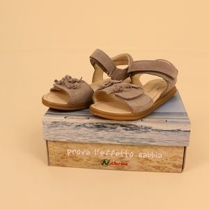 New NATURINO grey suede sandals - 30 (US 12,5)